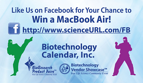 Biotechnology Calendar Inc Like Us on Facebook