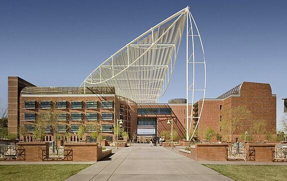Arizona bioresearch building