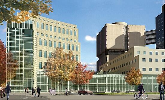 biomedical research building
