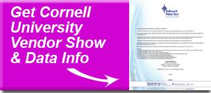 Cornell vendor show