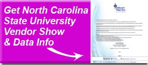 North Carolina State University Vendor Show and Data Information
