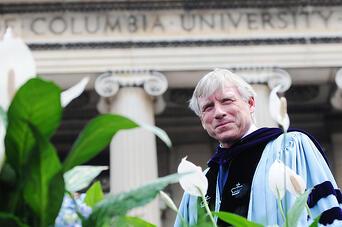 columbia university president