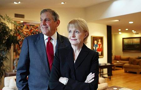 Dr. Jonathan Fielding and Karin Fielding