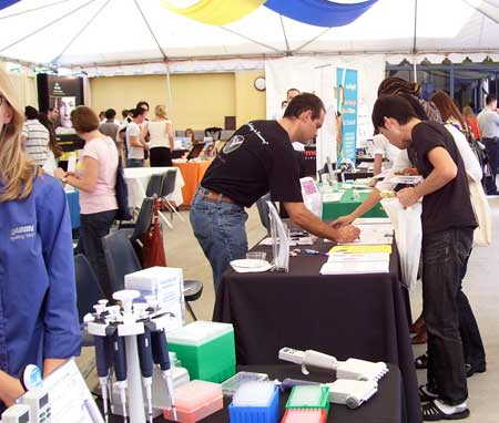 Bioresearch Product Faire, UC Irvine, biotechnology, life science, tradeshow