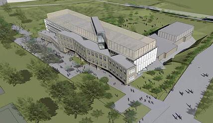 Utah biotechnology building