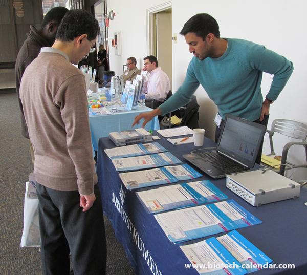 sell lab equipment to life science researchers at Rockefeller