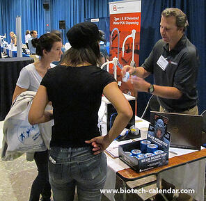 UCLA researchers find new lab supplies at a past Biotechnology Vendor Showcase™ Event in Southern California.