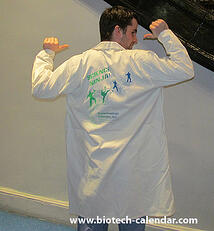 Stop by the BioResearch Product Faire™ Event for your chance to win a Science Ninja lab coat.
