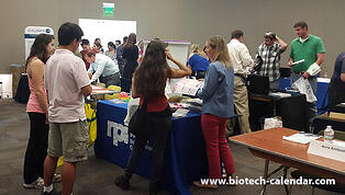 Researchers attend life science marketing events to find new products.