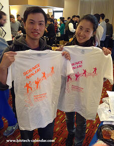 Science Ninjas enjoy a past BioResearch Product Faire™ Event.