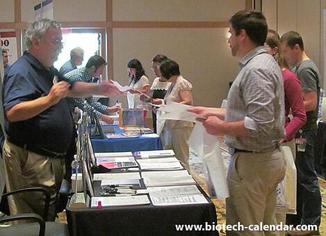 Lab supply companies meet with life science researchers at the 2014 BioResearch Product Faire™ Event in Cincinnati.