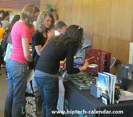 Life science product providers exhibit their products to a prime research audience at in Berkeley, California.
