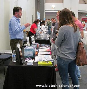 Life science professionals get the latest information from lab product providers at the Santa Barbara event.