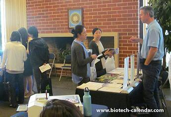 University researchers learn about new technologies at the Berkeley BioResearch Product Faire™ Event.