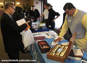 Bio research professionals find new leads at the Longwood lab vendor show.