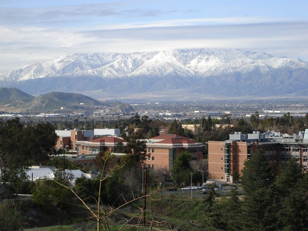 UC Riverside campu