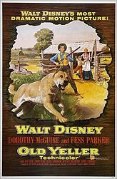 "The possibility of contracting rabies is shown in the popular movie ""Old Yeller"""