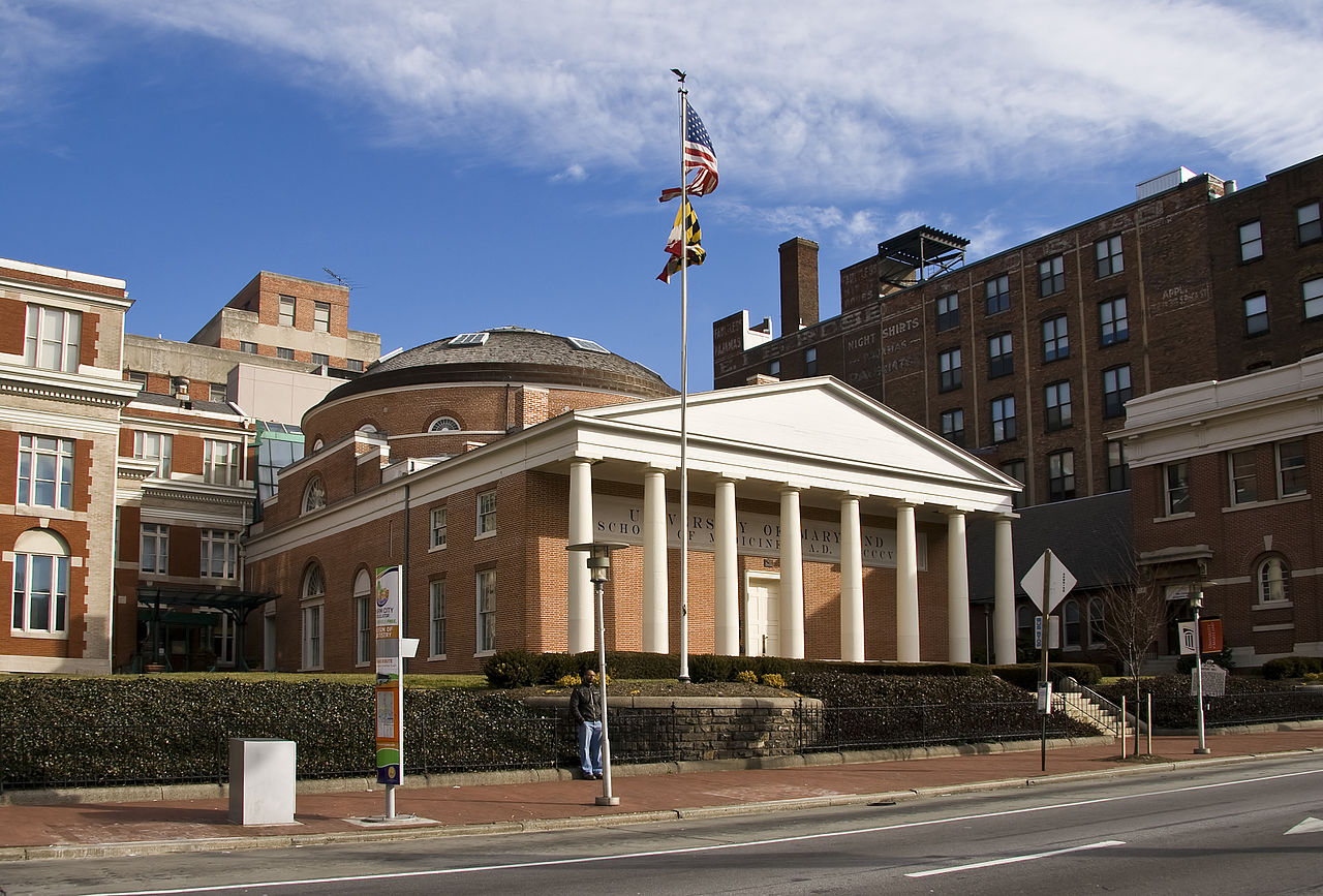 Davidge Hall, University of Maryland, Baltimore.