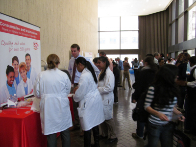 sell lab products to life science researchers at Rockefeller