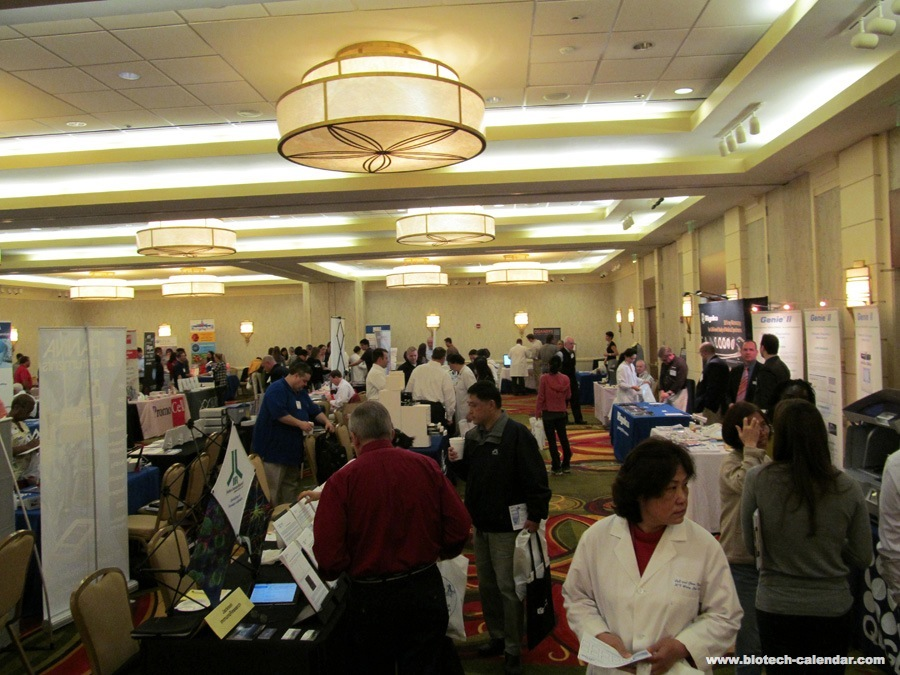 Researchers find new lab supplies at a past BioResearch Product Faire™ Event in Houston.