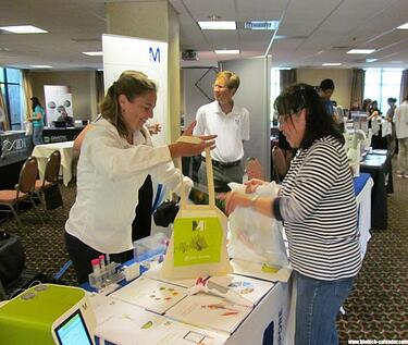 Display lab supplies to Tampa area life scientists at the 1st Annual BioResearch Product Faire™ Event at USF in January, 2016.