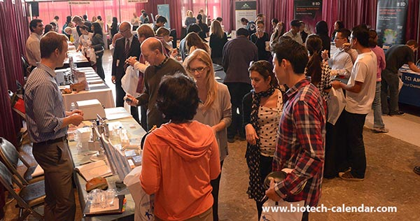 Researchers at a past Biotechnology Vendor Showcase™ Event in Los Angeles learn about the best and newest tools and technologies available to use in their labs.