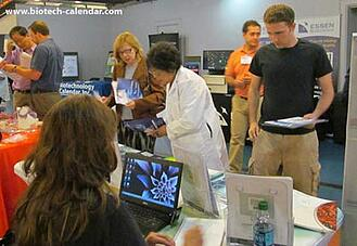Researchers explore lab product options at a past BioResearch Product Faire™ Event.