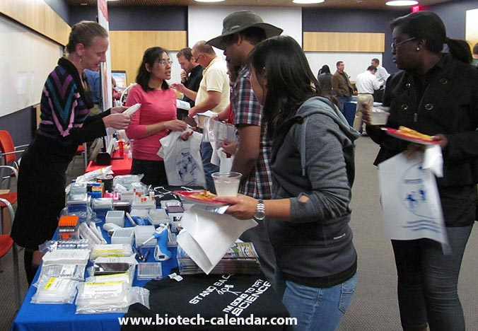 Arizona researchers learn about new products available at the 2014 BioResearch Product Faire™ Event.