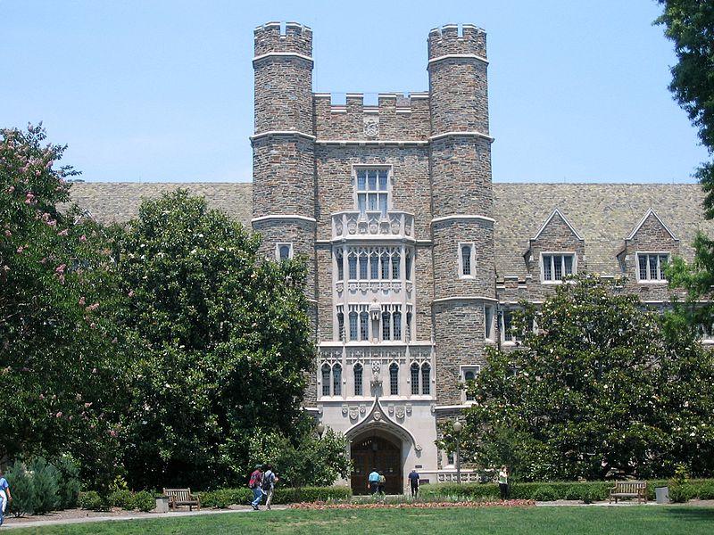 Entrance to the Duke University Medical Center.