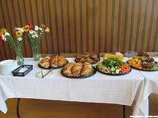 Everyone who attends the BioResearch Product Faire™ Event in Berkeley will have access to a complimentary breakfast and lunch buffet.