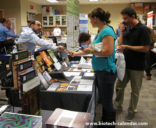 A lab supplier discovers new leads at a past BioResearch Product Faire™ event in Seattle, WA.