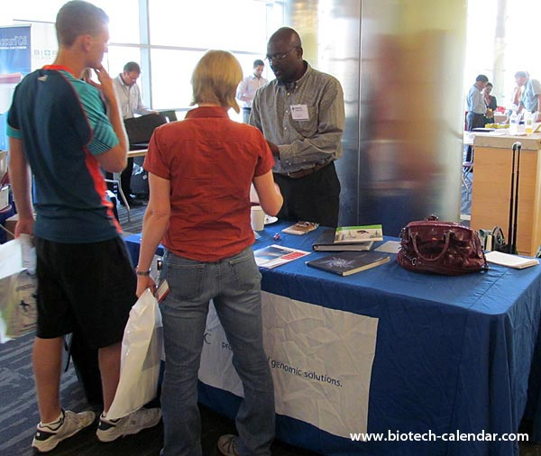A lab suppliers finds new sales leads at a past BioResearch Product Faire™ Event in Aurora, CO.