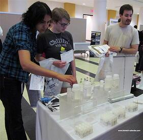 Researchers learn about new lab supplies at the 2014 BioResearch Product Faire™in MN