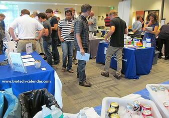 Madison area researchers discover new lab supplies at the 2014 Research Park event.
