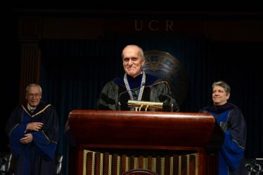 New research building announced by UCR chancellor Kim Wilcox