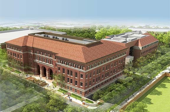 New research building at USC