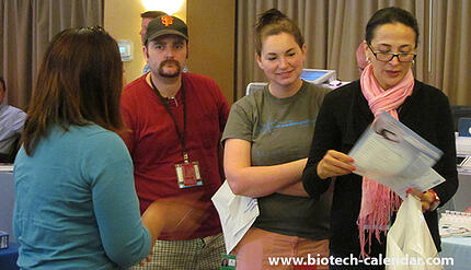 Bioresearchers learn about new products available.