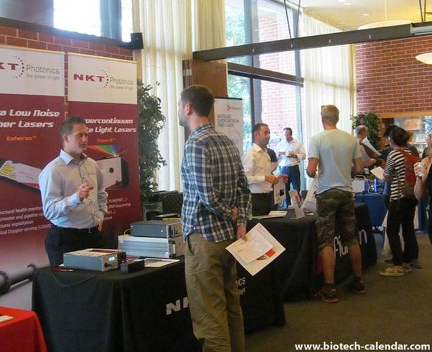 Laser equipment sales at Berkeley photonics show