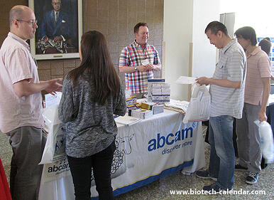 Abcam at the USC BioResearch Product Faire™ Event.