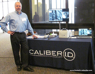 Caliber I.D. at the Rockefeller University BioResearch Product Faire™ Event.