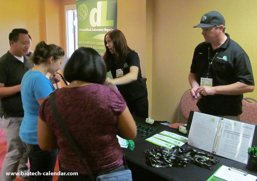 Sacramento researchers discover new laboratory supplies at the 2015 BioResearch Product Faire™ Event.