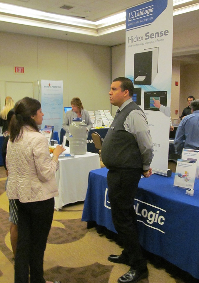 LabLogic at the 2015 Georgetown BioResearch Product Faire™ Event
