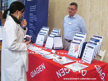 Qiagen at the Mount Sinai BioResearch Product Faire™ Event.