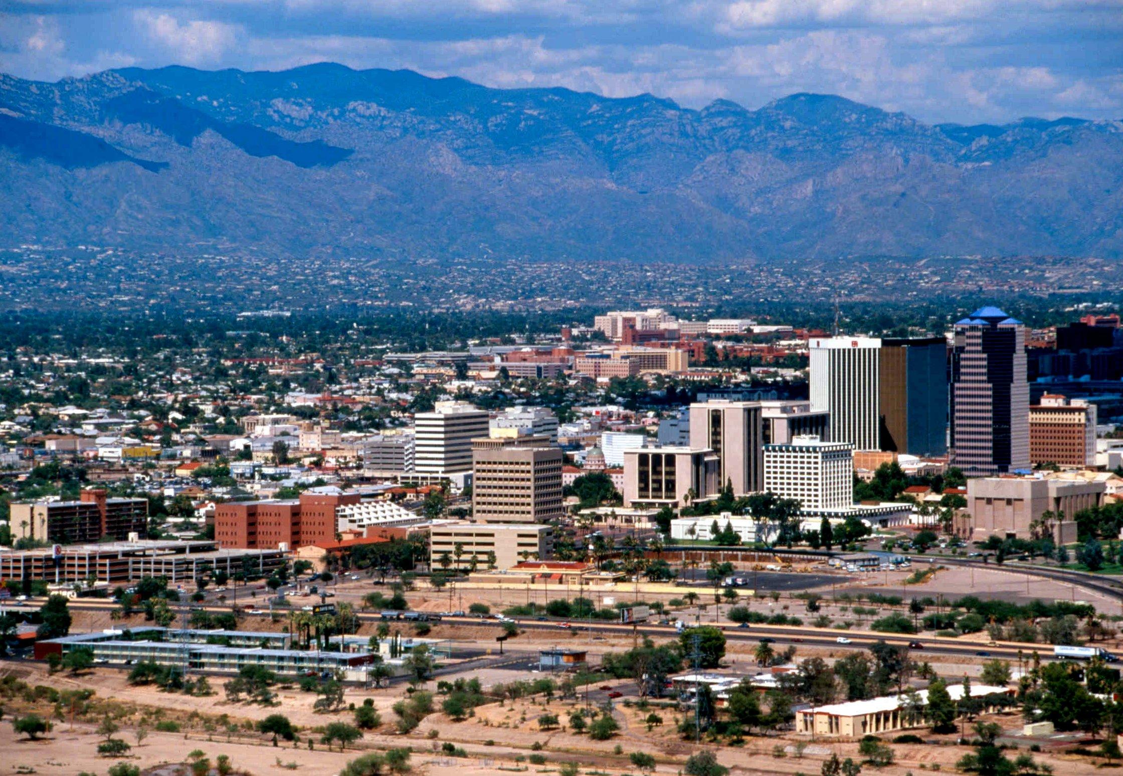 The University of Arizona, Tucson situated in the southwest US.