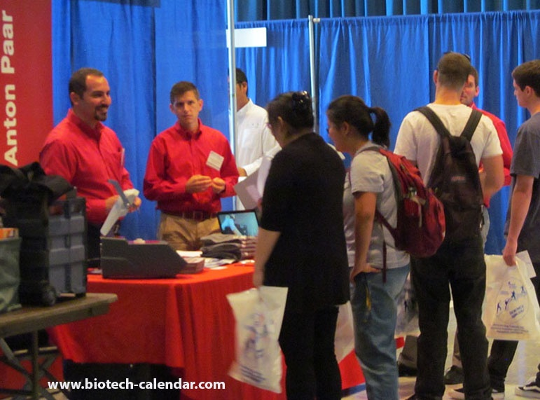 Lab suppliers meet with active life science researchers at a past UCLA event.