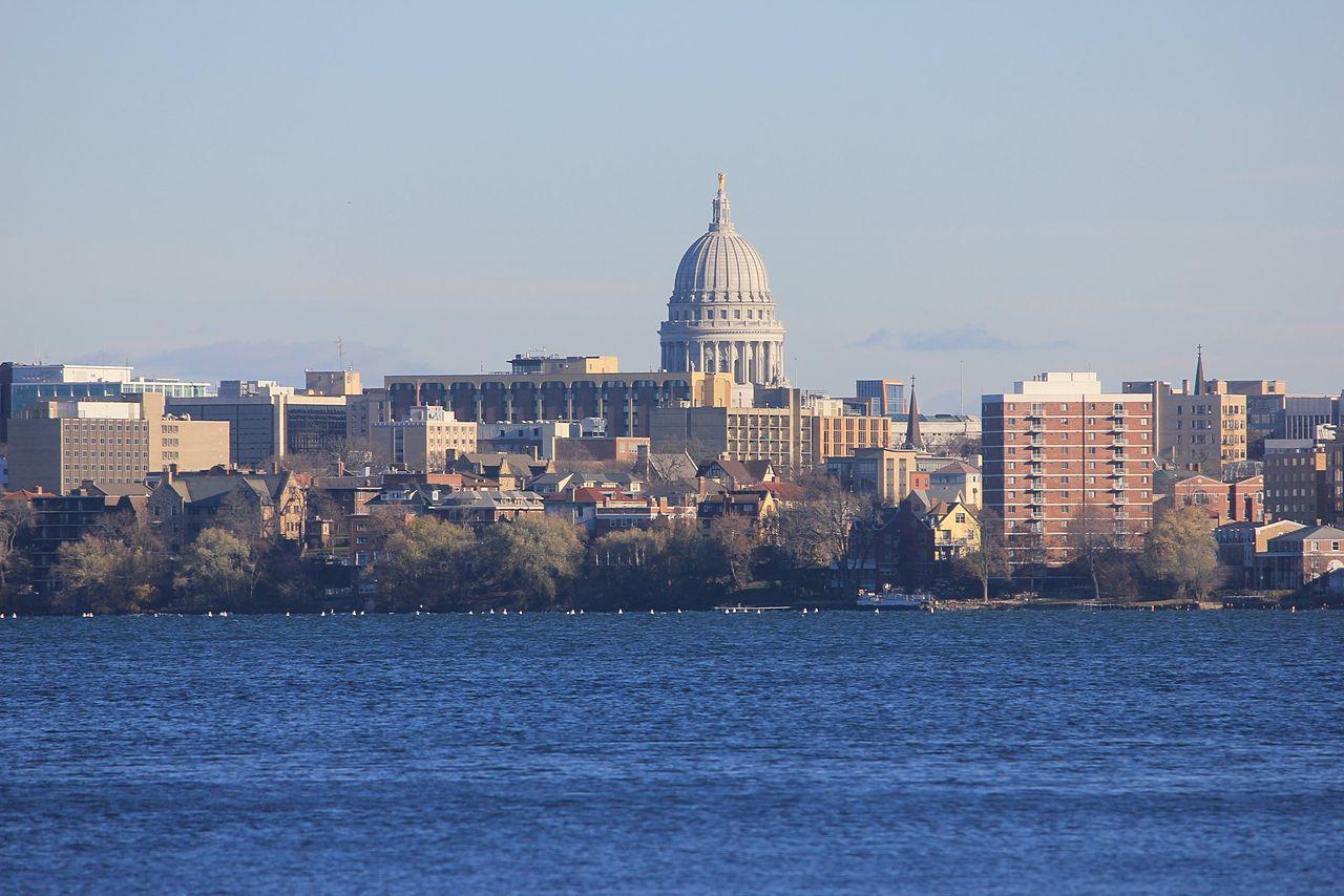 Skyline of Madison, Wisconsin