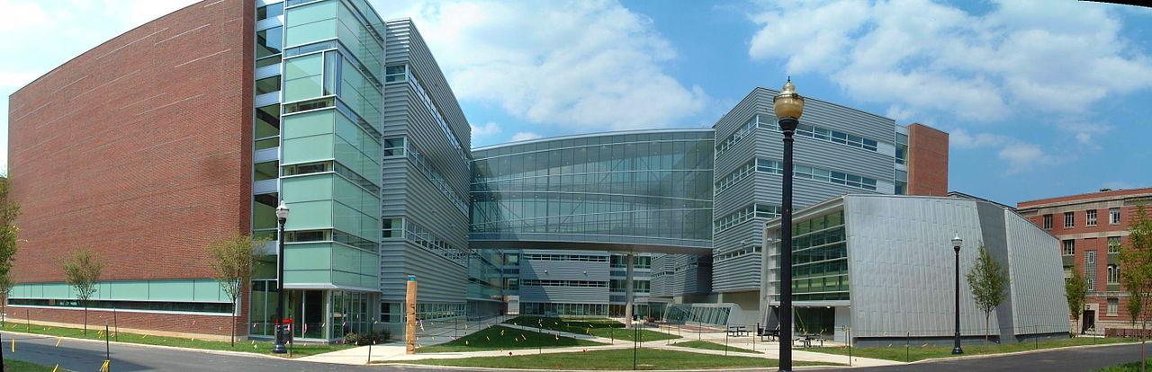 The Scott Laboratory at Ohio State University in Columbus.