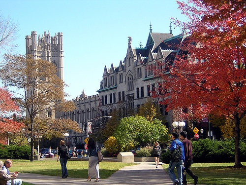 University of Chicago campus