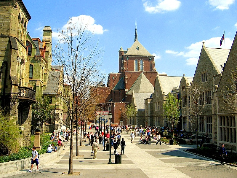 The University of Pennsylvania in Philadelphia.