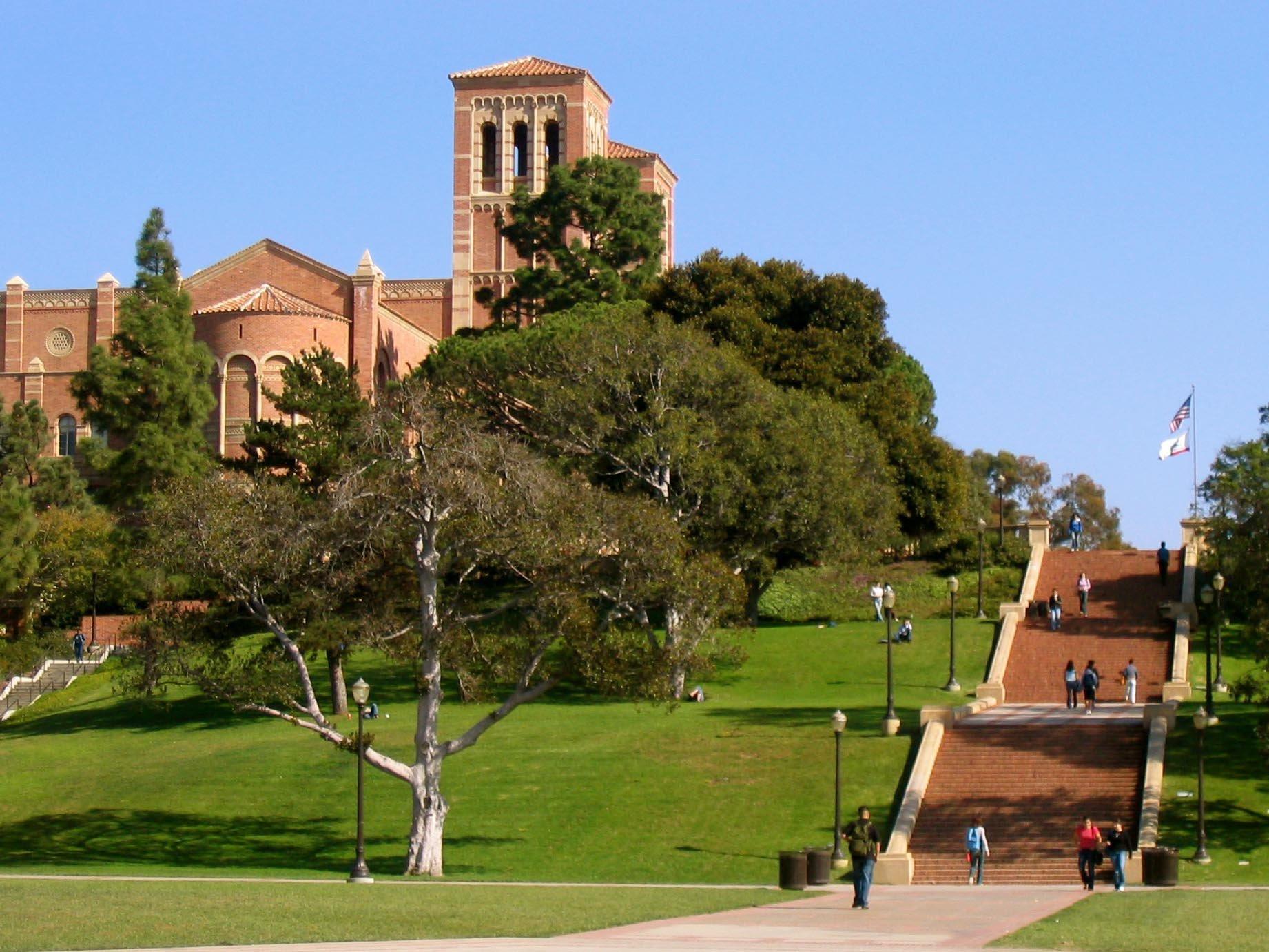 UCLA quad